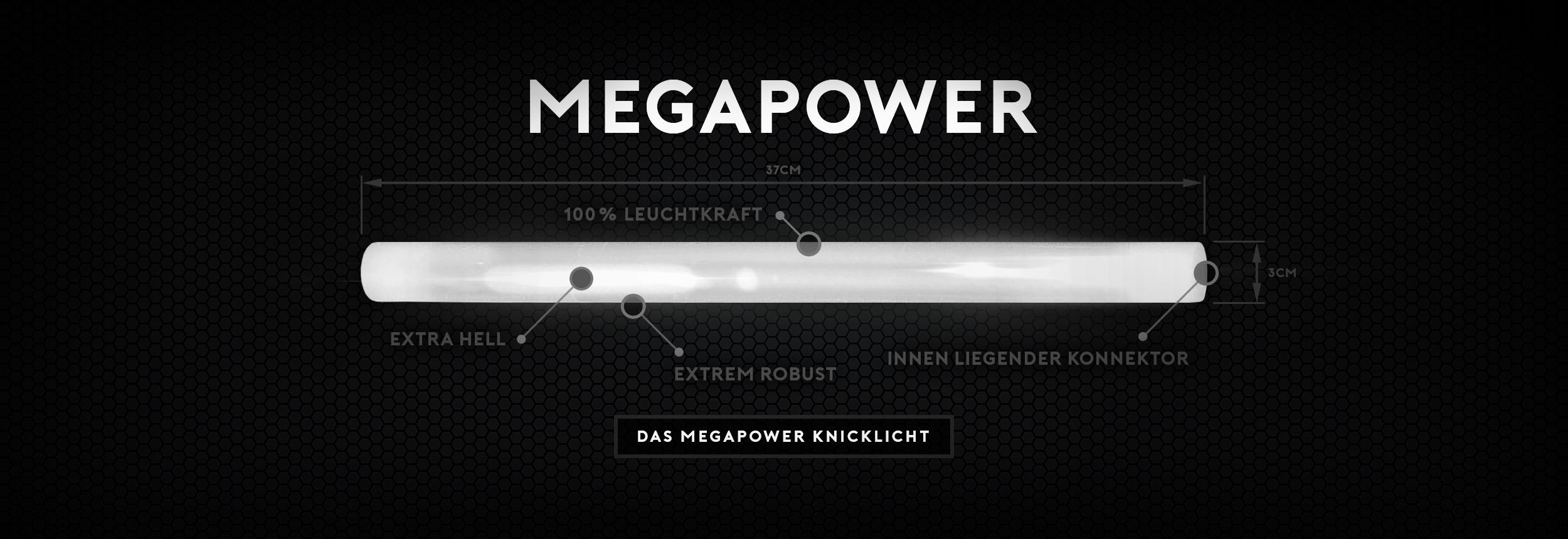 Megapower Knicklichter