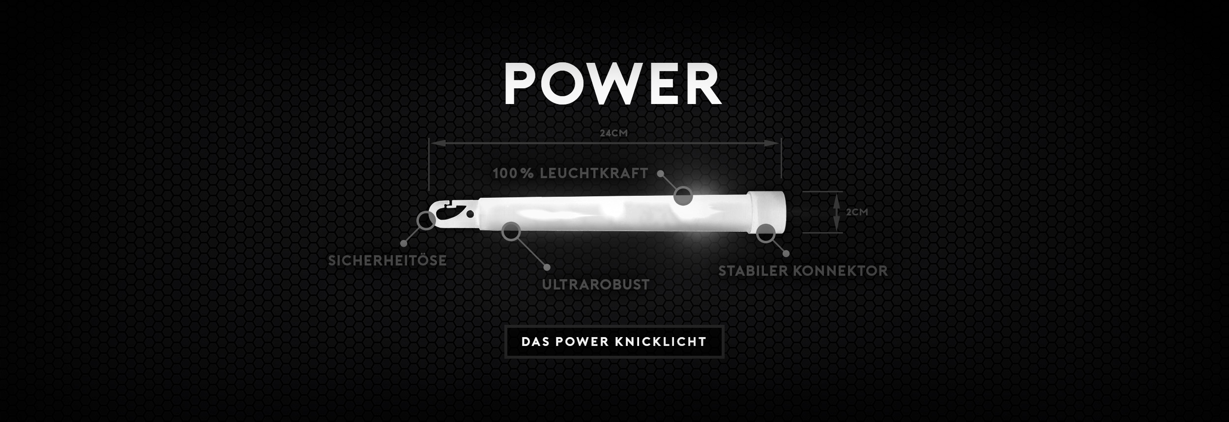 Power Knicklichter