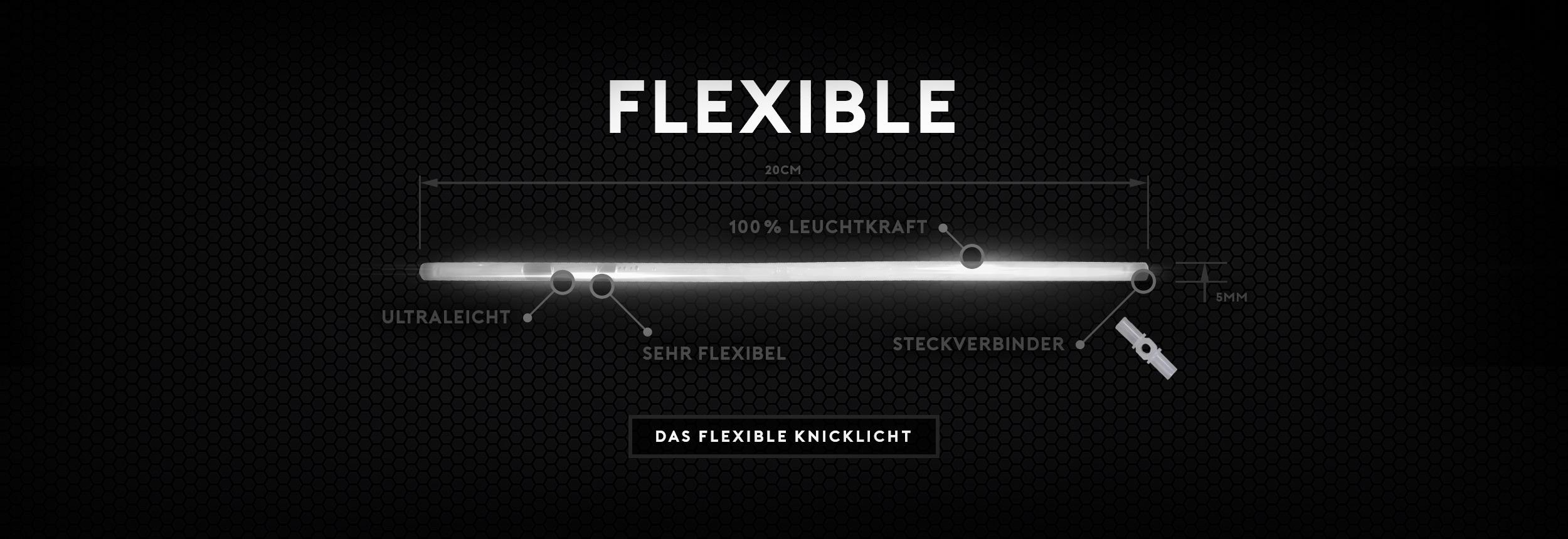 Flexible Knicklichter